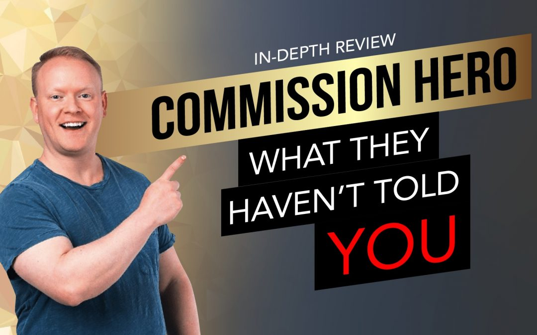 Commission Hero Review: What They Haven't Told You