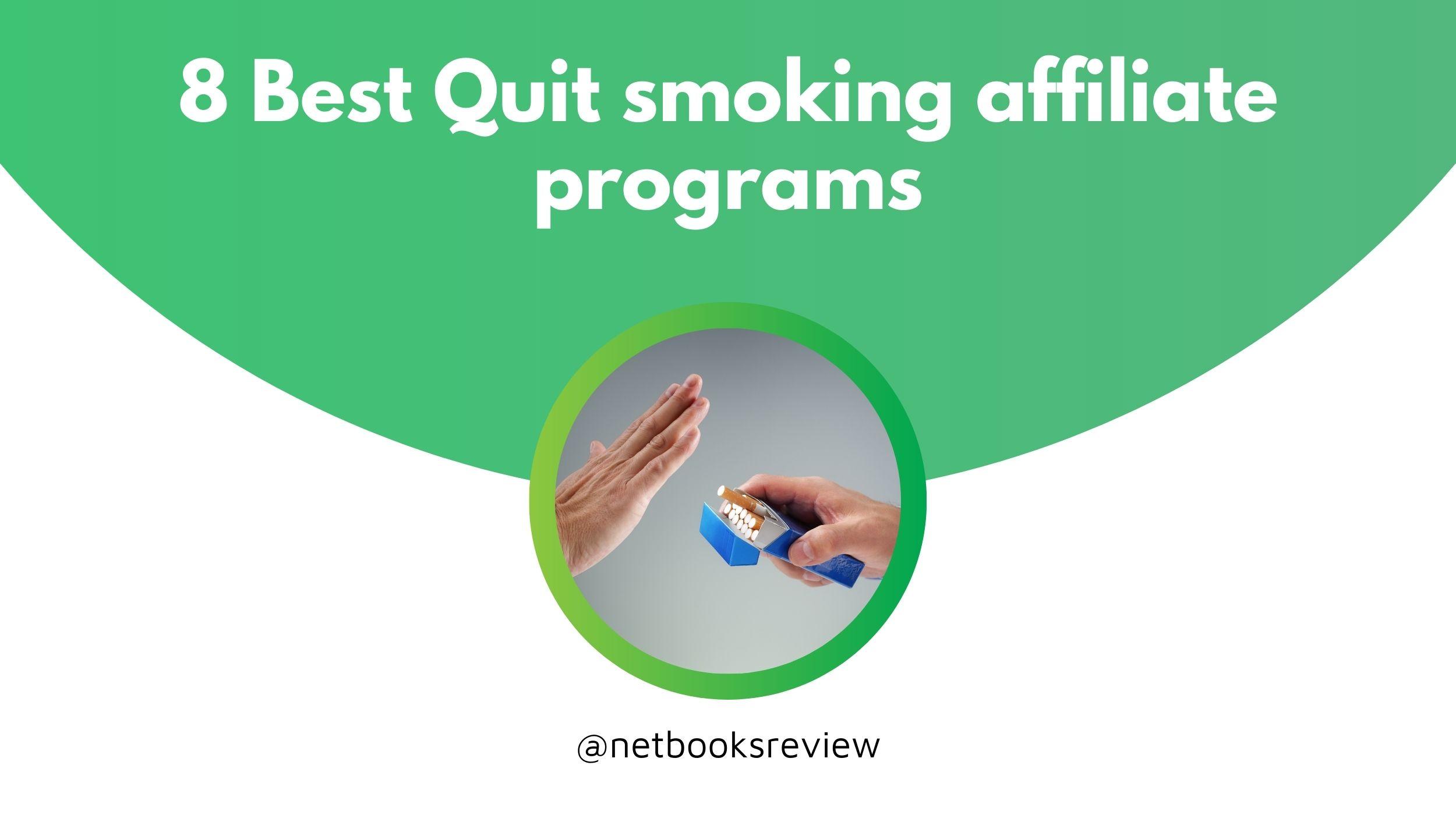 best quit smoking affiliate