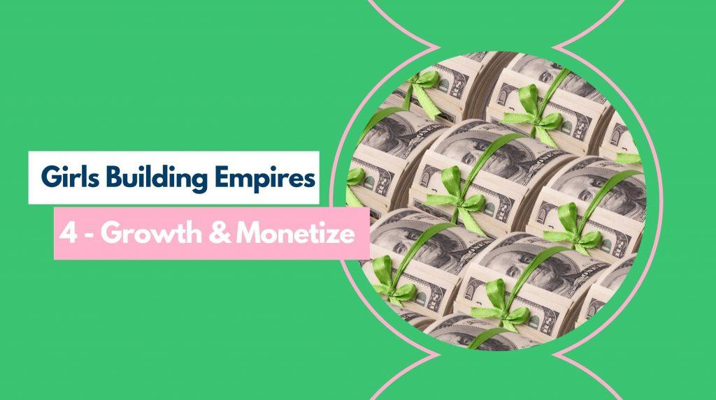 GBE Part 4 - Monetize