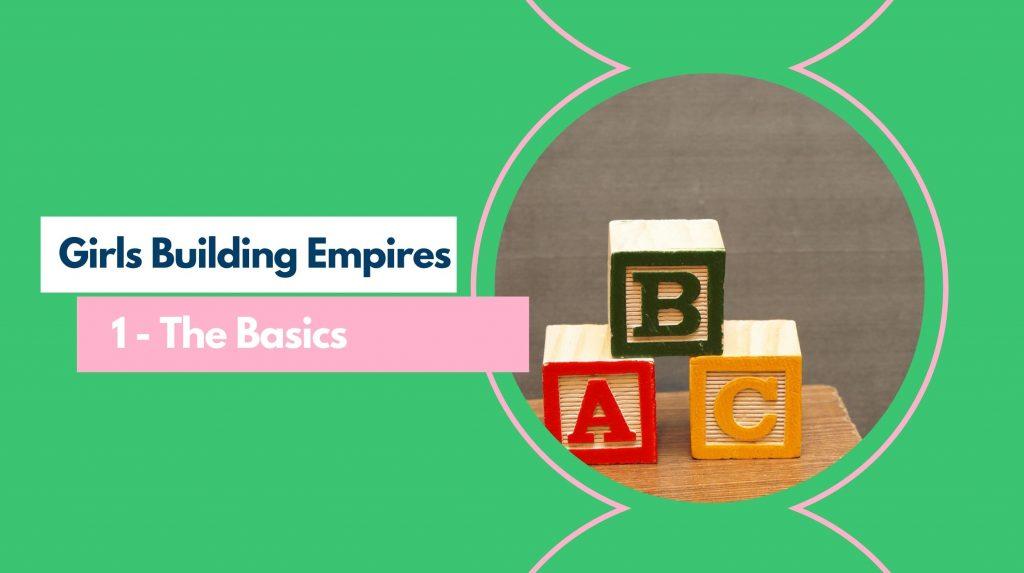 GBE Part 1 - The Basics